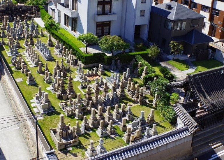 大乗寺 墓地2